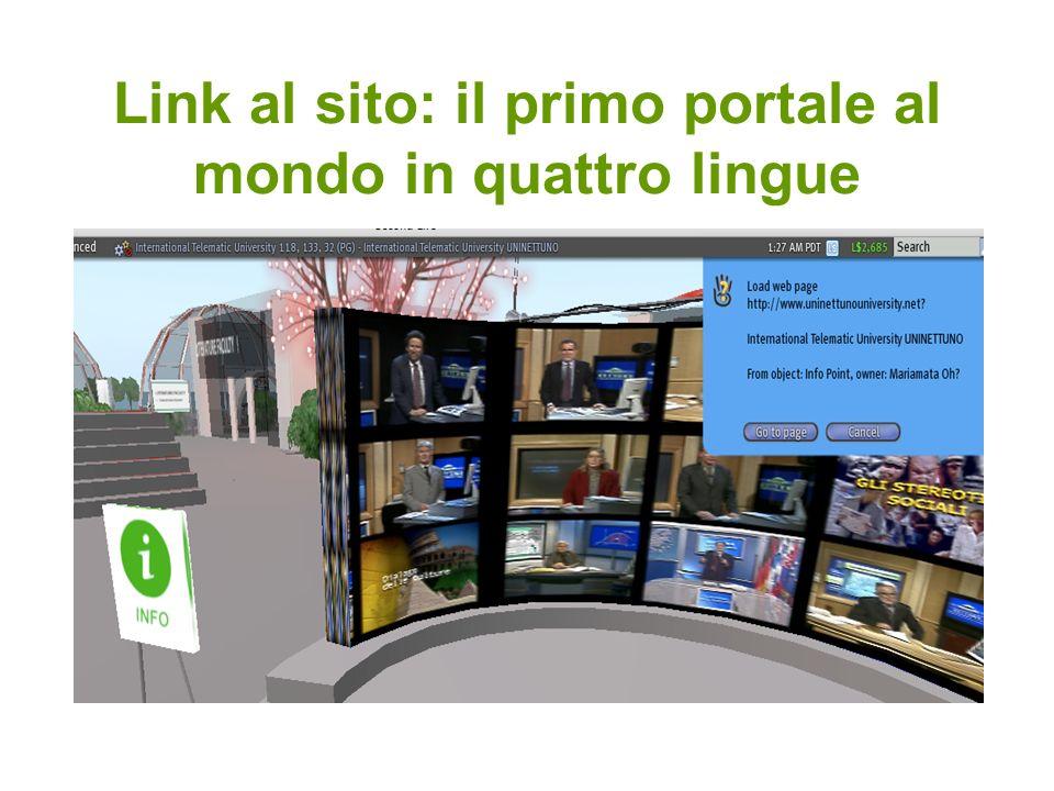 Link al sito: il primo portale al mondo in quattro lingue