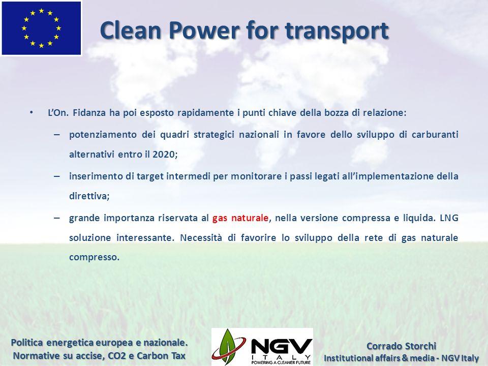 Direttiva sulla qualità dellaria Il 27 marzo 2013 la Commissione europea ha pubblicato il Libro verde sul quadro al 2030 per le politiche del clima e dellenergia.