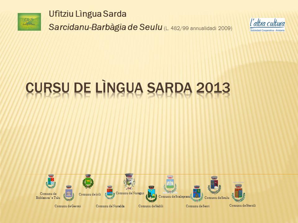 Ufìtziu Lìngua Sarda Sarcidanu-Barbàgia de Seulu (L.