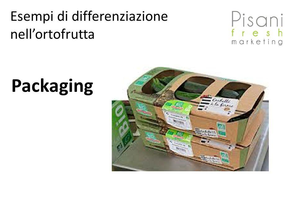 Esempi di differenziazione nellortofrutta Packaging