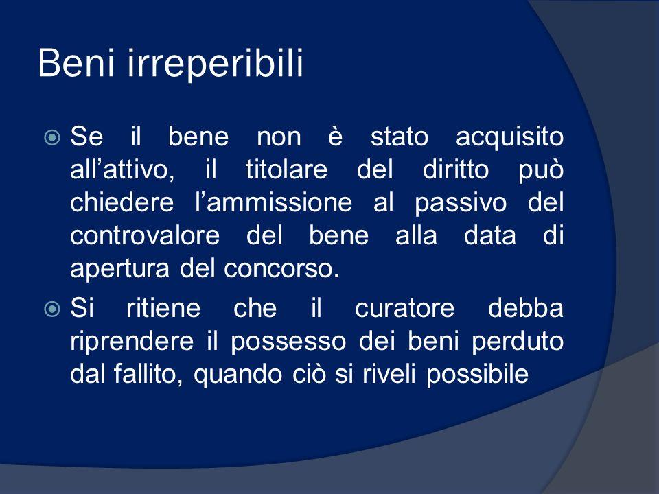 ACCERTAMENTO PASSIVO E DIRITTI DI TERZI SU BENI lorenzo.benatti@unipr.it