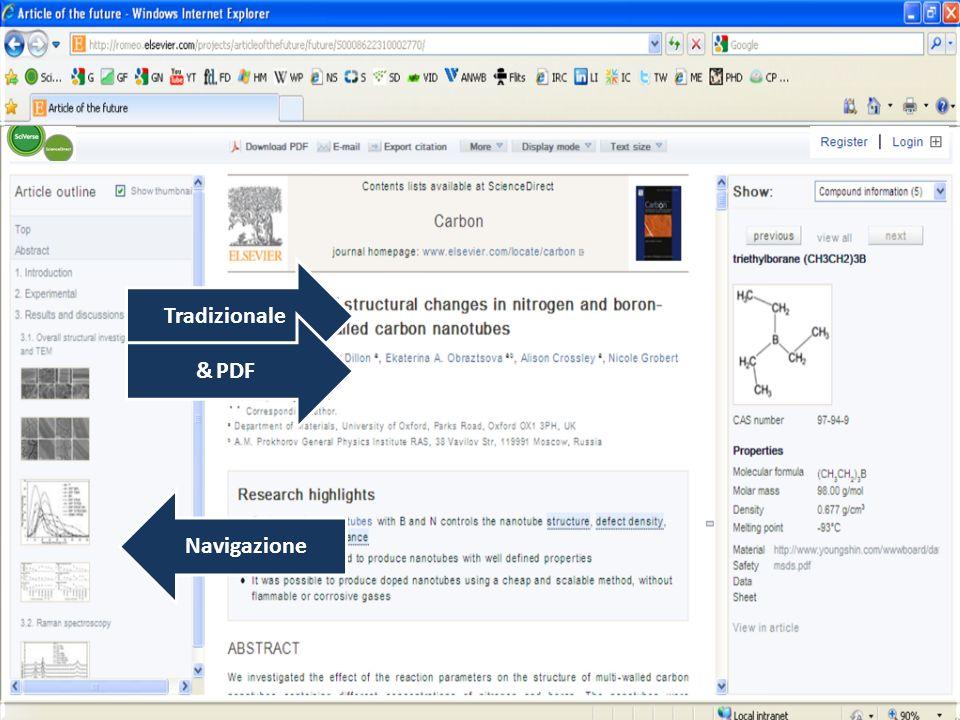 Navigazione Tradizionale & PDF