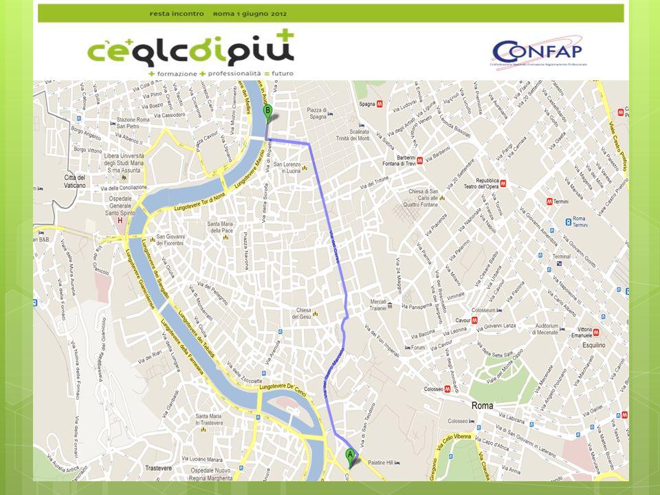 Itinerario da Circo Massimo a Piazza Augusto Imperatore (2,8 Km) 1.