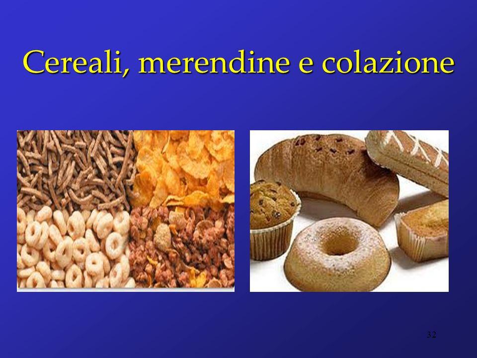 Cereali, merendine e colazione 32