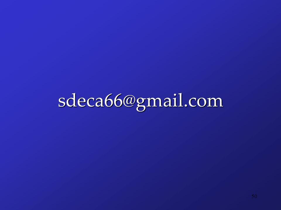 sdeca66@gmail.com 50