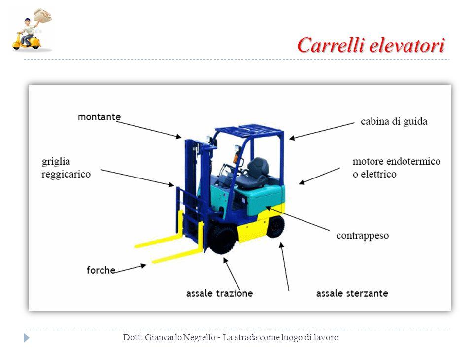 Carrelli elevatori Dott. Giancarlo Negrello - La strada come luogo di lavoro