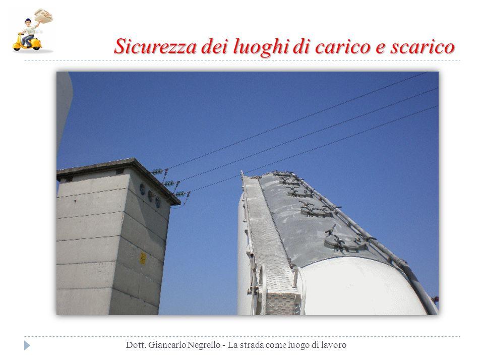 Scaletta di accesso separata Dott. Giancarlo Negrello - La strada come luogo di lavoro