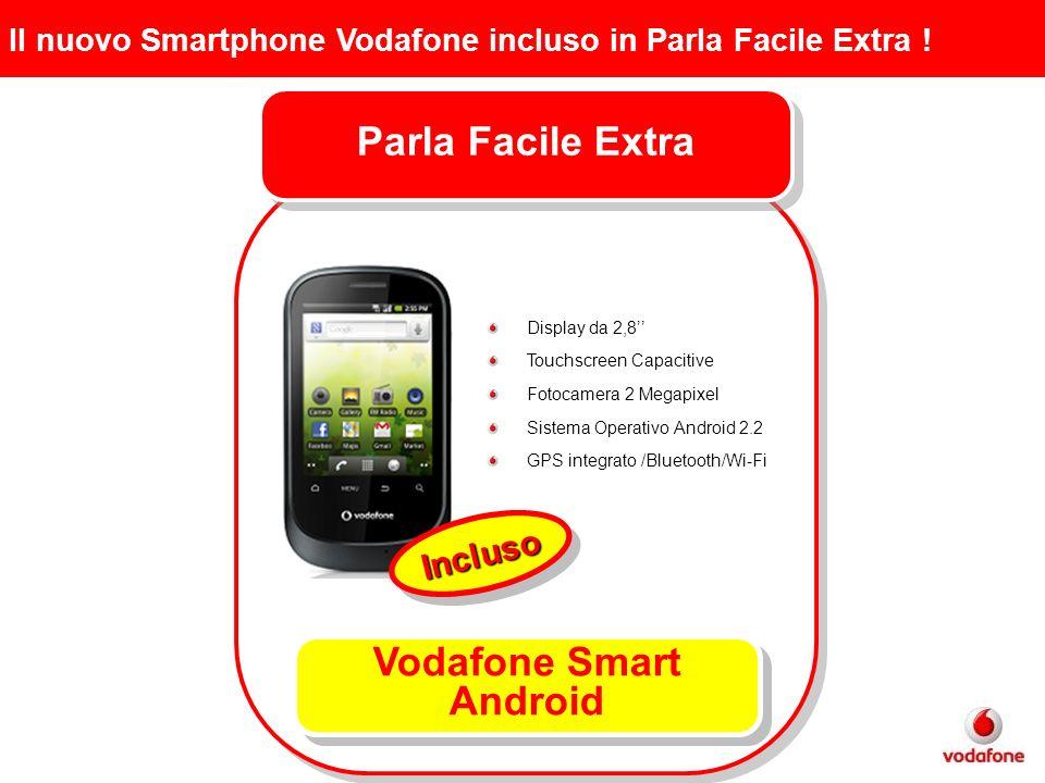 Il nuovo Smartphone Vodafone incluso in Parla Facile Extra .
