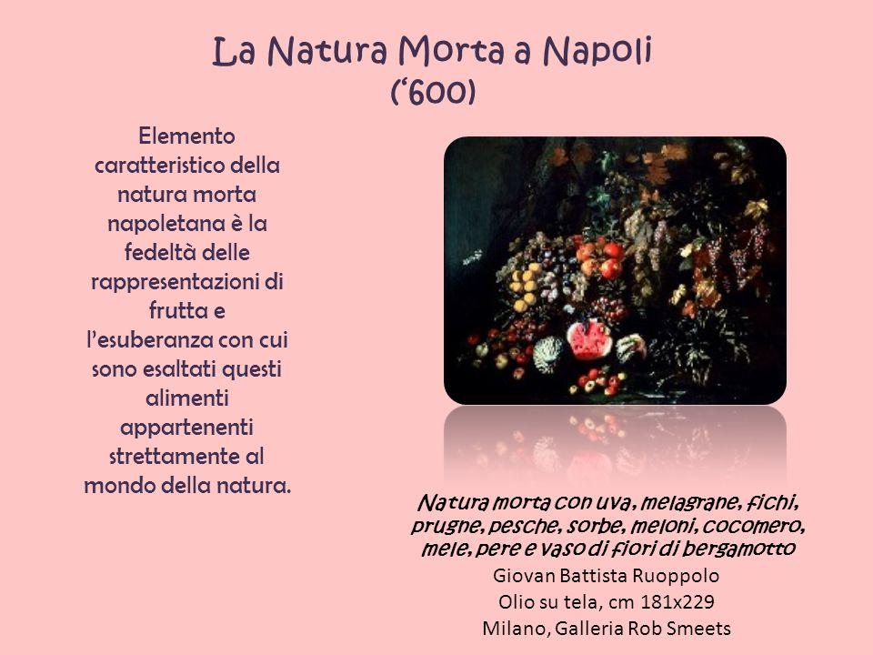 La Natura Morta nella Roma barocca Fiori e frutta con donna che coglie l uva Christian Berentz e Carlo Maratta Olio su tela, cm 250x175 Napoli, Museo di Capodimonte