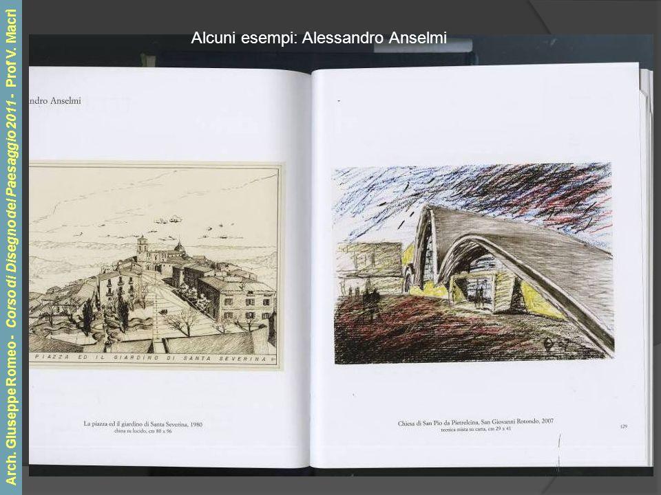 Alcuni esempi: Alessandro Anselmi