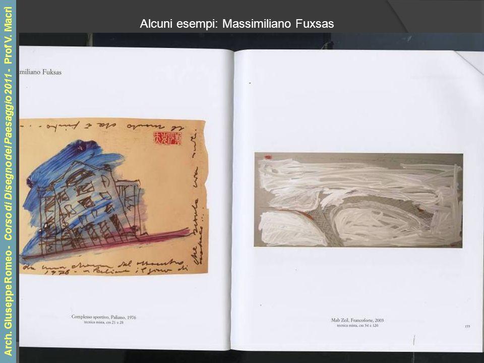 Alcuni esempi: Massimiliano Fuxsas Arch.
