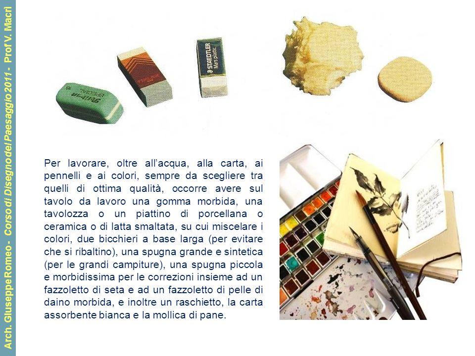 Arch.Giuseppe Romeo - Corso di Disegno del Paesaggio 2011 - Prof V.