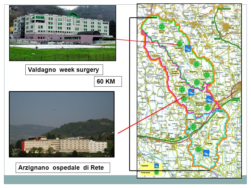 60 KM Valdagno week surgery Arzignano ospedale di Rete