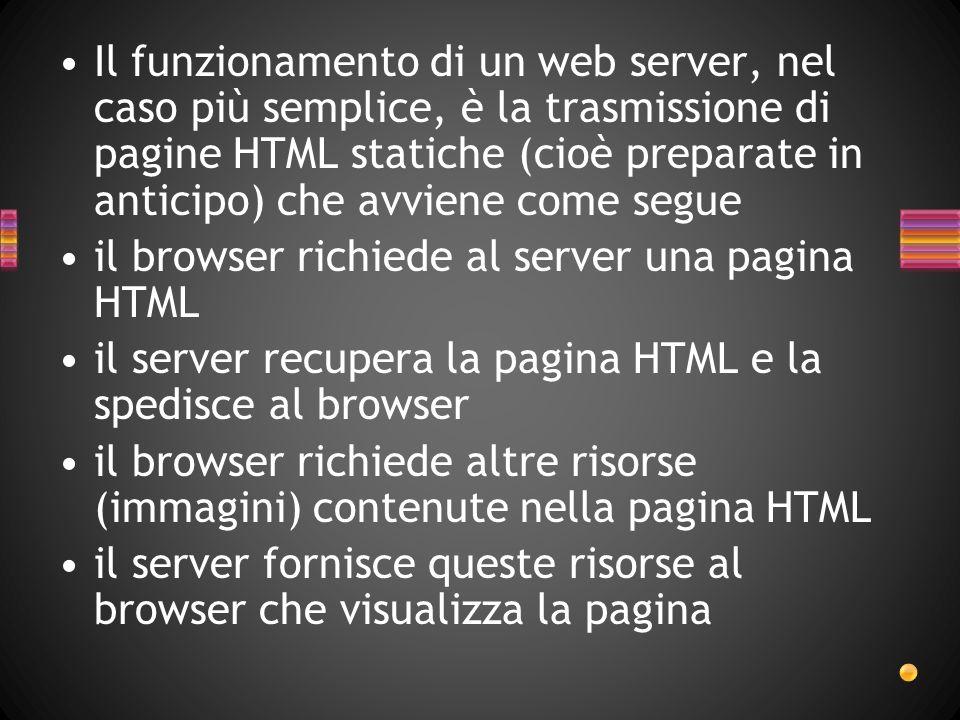 Server FTP Un server FTP è un programma che permette di accettare connessioni in entrata e di comunicare attraverso il protocollo FTP.