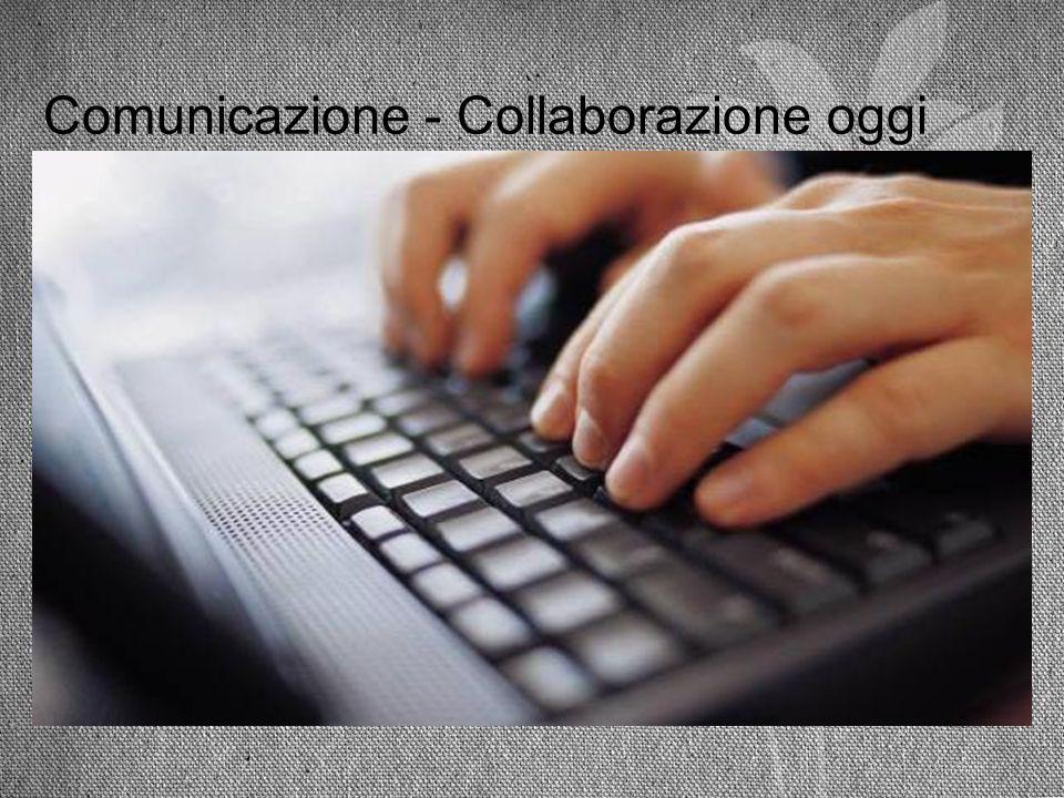 Comunicazione - Collaborazione oggi