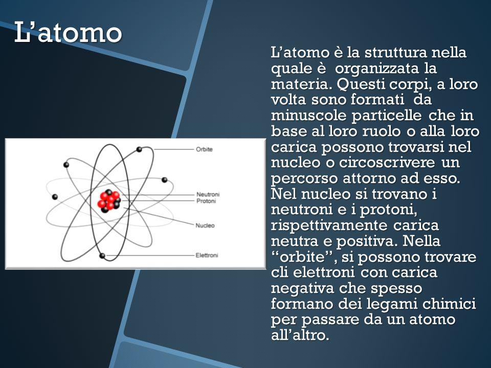Latomo Latomo è la struttura nella quale è organizzata la materia. Questi corpi, a loro volta sono formati da minuscole particelle che in base al loro