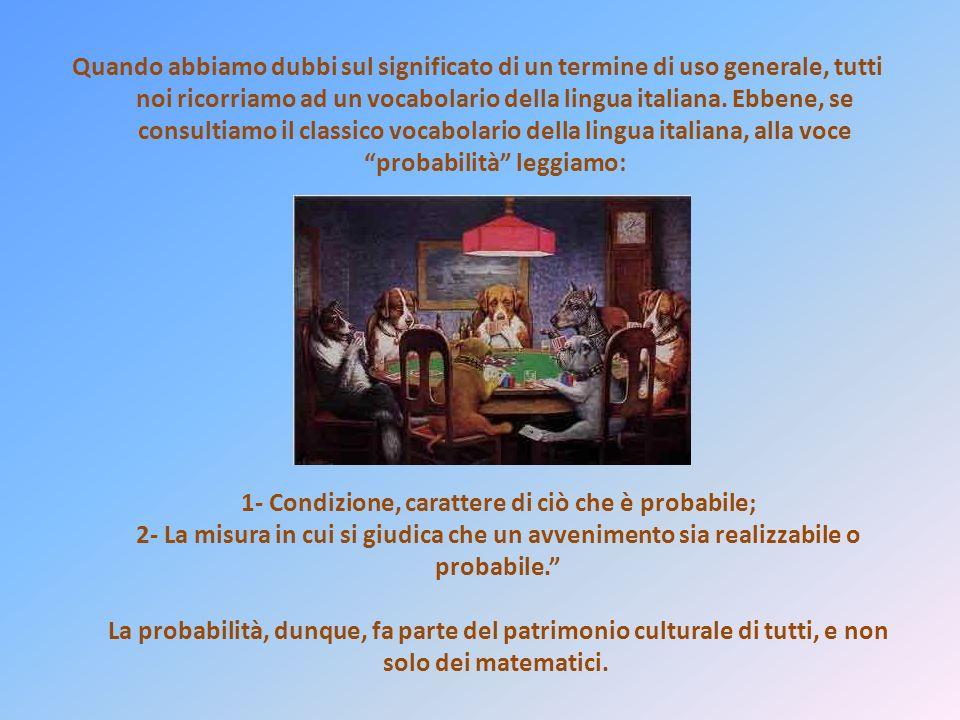 Quando abbiamo dubbi sul significato di un termine di uso generale, tutti noi ricorriamo ad un vocabolario della lingua italiana.