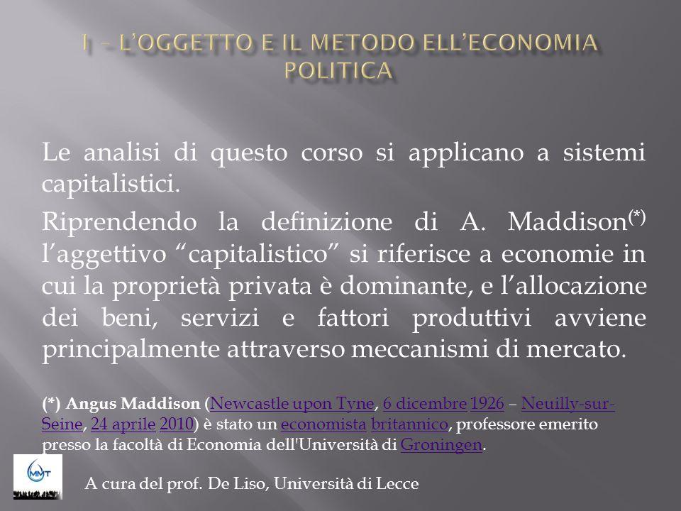 Argomenti - Paradigmi scientifici; - Scuola classica; - Scuola neoclassica (o marginalista); - Scuola Schumpeteriana/evolutiva; - Altre scuole.