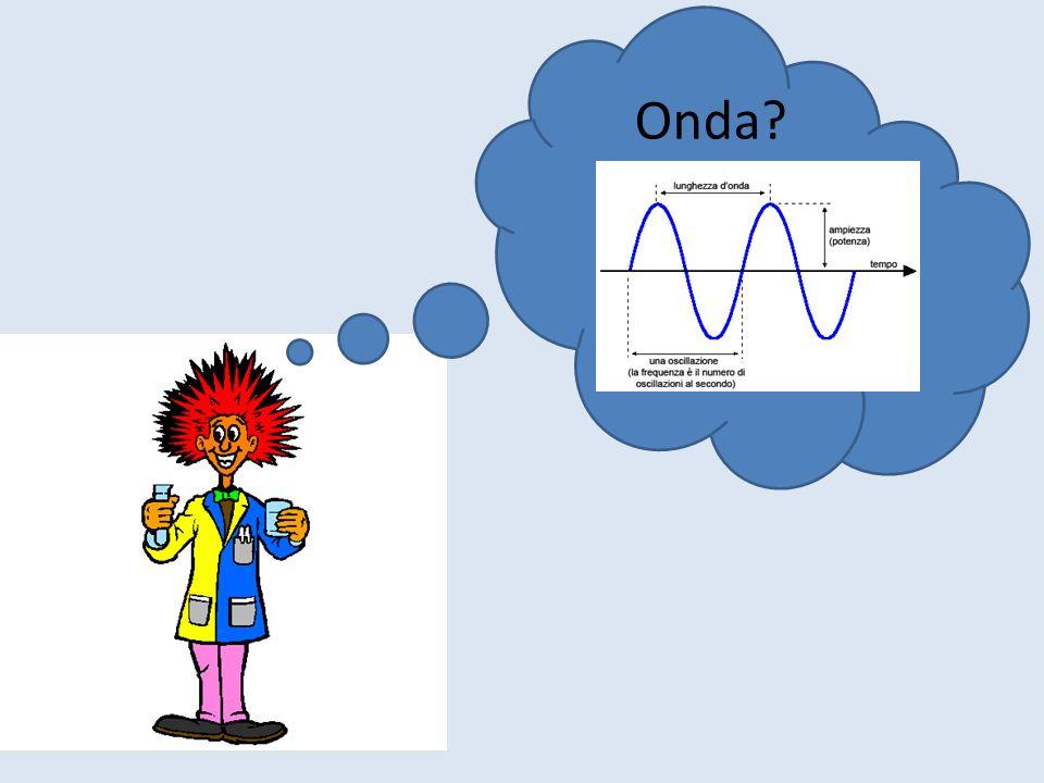 Ad esempio…. Il suono di una sirena è unonda che viaggia alla velocità di 300 metri al secondo. 3x 10 2 m/s Mentre da un faro che risplende nel buio d