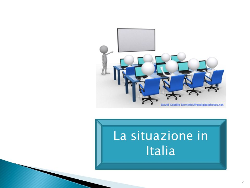 2 La situazione in Italia