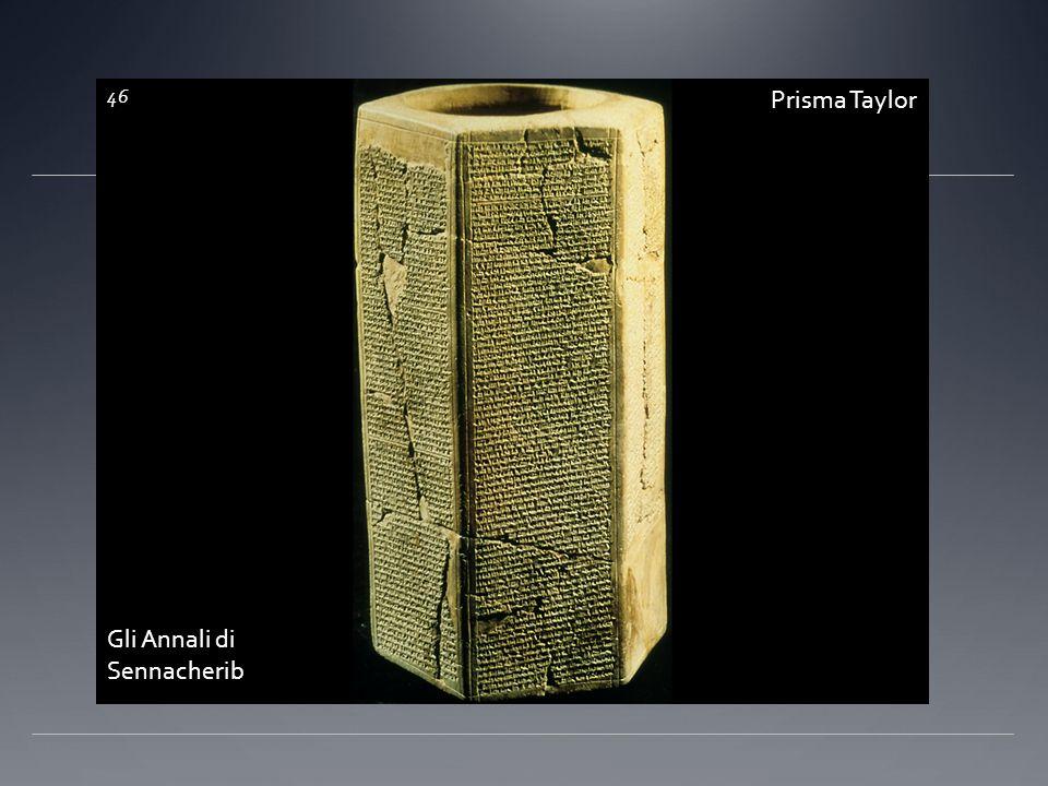 Prisma Taylor 46 Gli Annali di Sennacherib