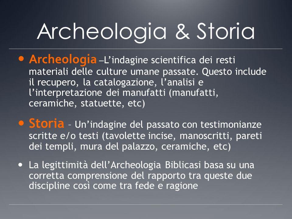 Archeologia & Storia Archeologia – Lindagine scientifica dei resti materiali delle culture umane passate. Questo include il recupero, la catalogazione
