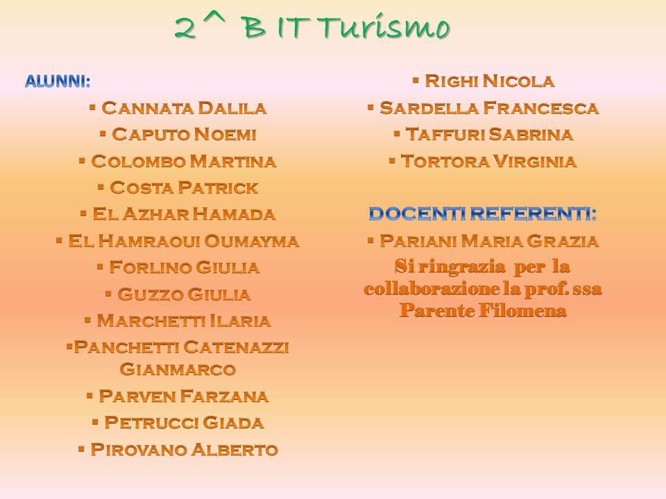 2^ B IT Turismo
