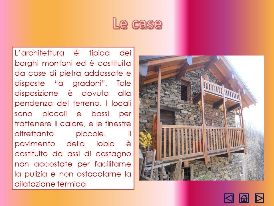 Per anni lunica via di comunicazione tra Monteviasco e il fondovalle è stata rappresentata dalla suggestiva mulattiera a gradinata.