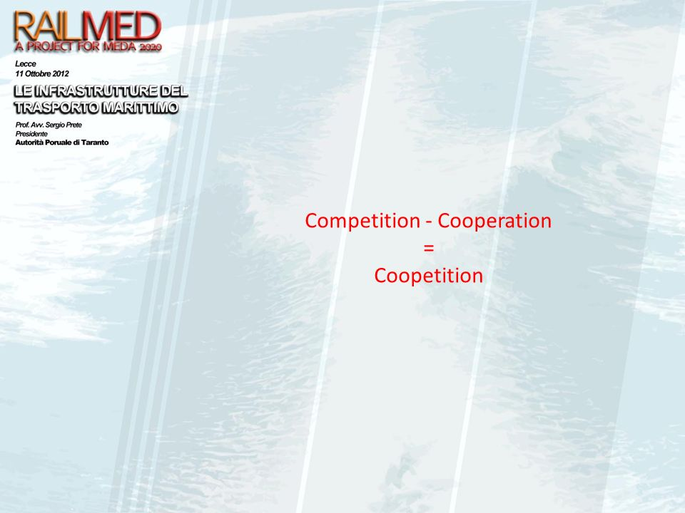 Competition - Cooperation = Coopetition