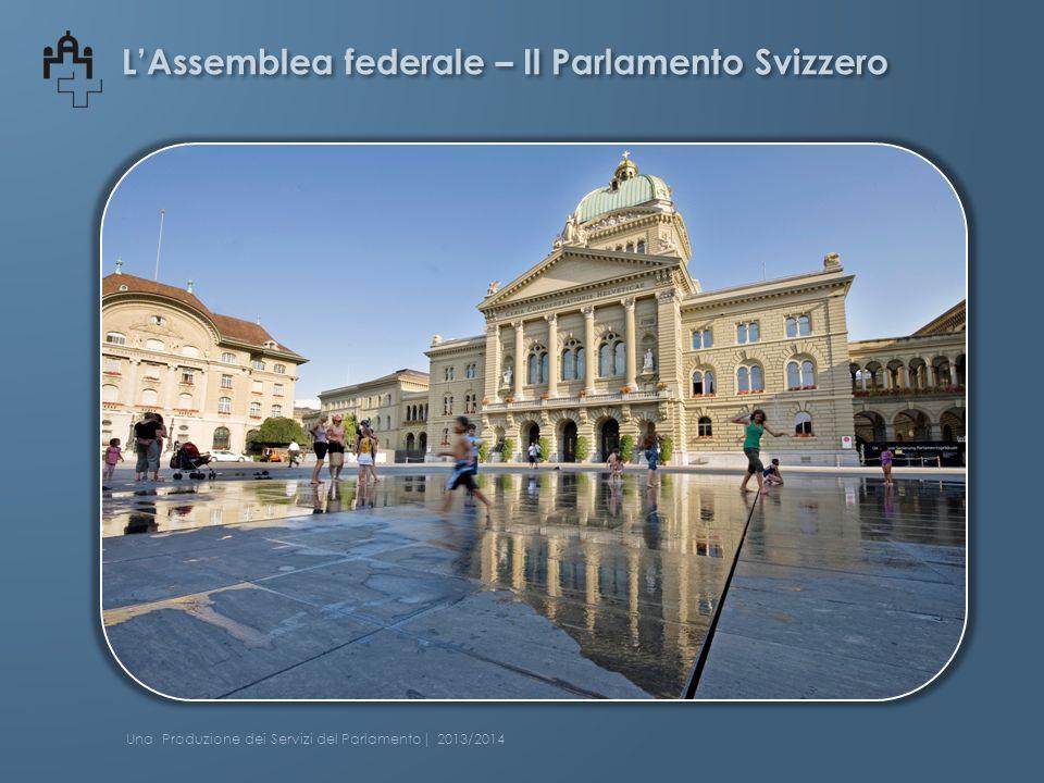 Consiglio degli Stati Presidente 2013 – 2014 Hannes Germann UDC, SH Una Produzione dei Servizi del Parlamento| 2013/2014