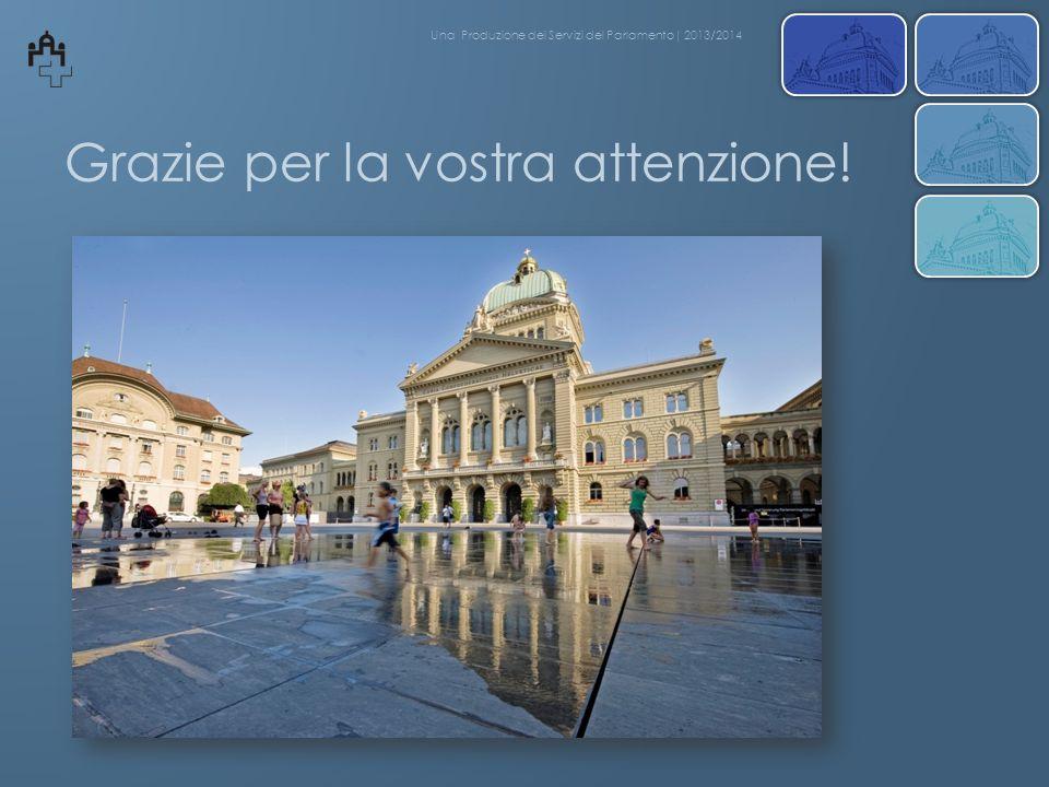 Grazie per la vostra attenzione! Una Produzione dei Servizi del Parlamento| 2013/2014