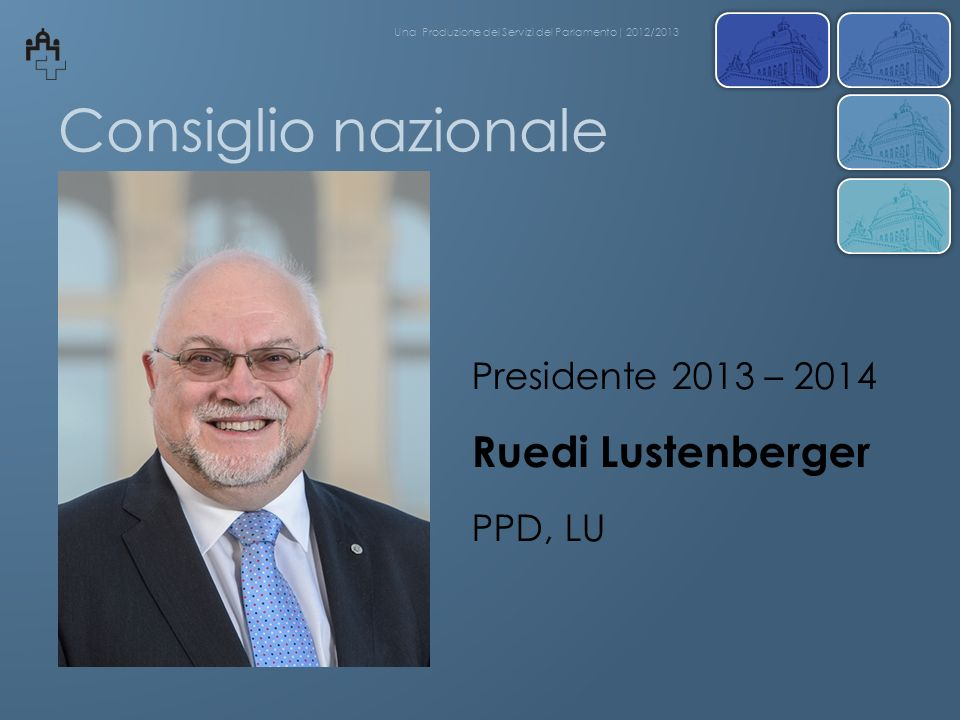 Dibattiti del Consiglio nazionale Una Produzione dei Servizi del Parlamento| 2013/2014