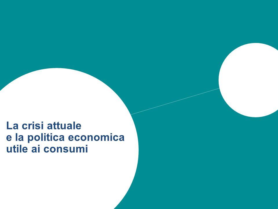 14 La crisi attuale e la politica economica utile ai consumi