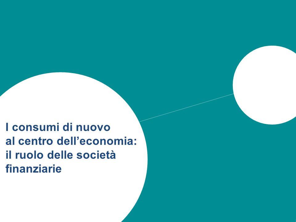 23 I consumi di nuovo al centro delleconomia: il ruolo delle società finanziarie