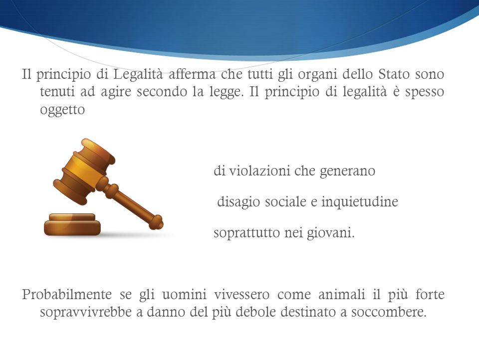 EDUCAZIONE ALLA LEGALITA Classe 2°F ISTITUTO COMPRENSIVO G.PASCOLI, SILVI (TE) ISTITUTO COMPRENSIVO G.PASCOLI, SILVI (TE) COPPETTI Beatrice