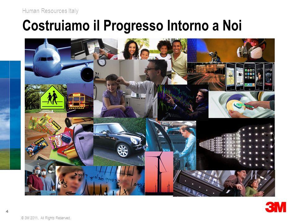 5 Human Resources Italy © 3M 2011. All Rights Reserved. Continua Crescita della Presenza Globale