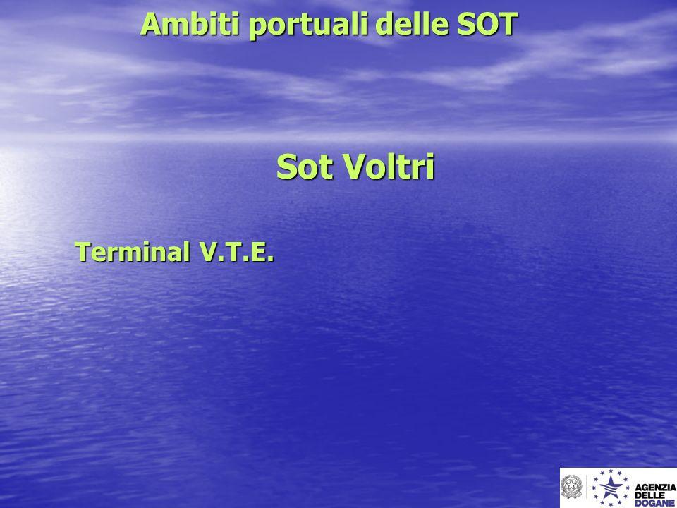 Ambiti portuali delle SOT Sot Voltri Terminal V.T.E.