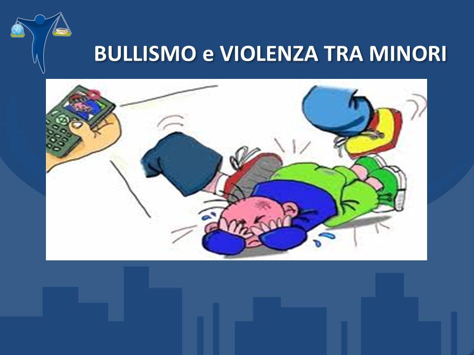 BULLISMO e VIOLENZA TRA MINORI