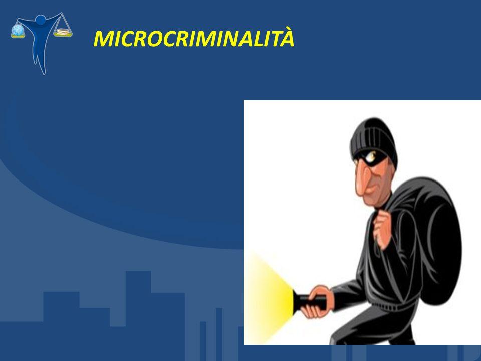 MICROCRIMINALITÀ