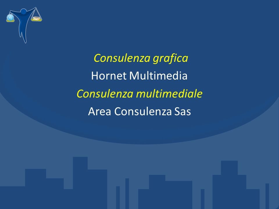 Consulenza grafica Hornet Multimedia Consulenza multimediale Area Consulenza Sas