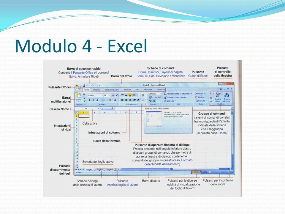 Modulo 4 - Excel