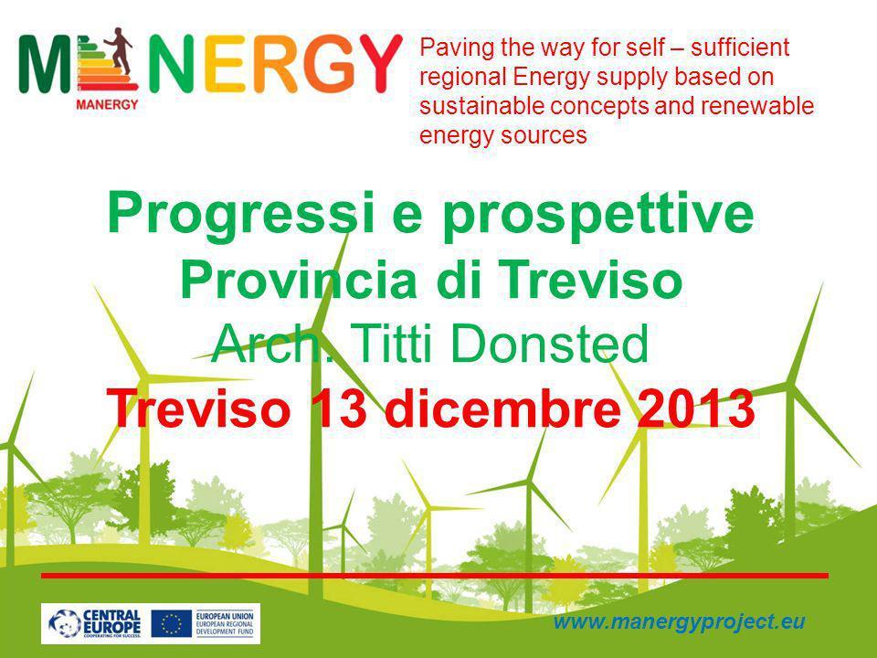 Progressi e prospettive Provincia di Treviso Arch.