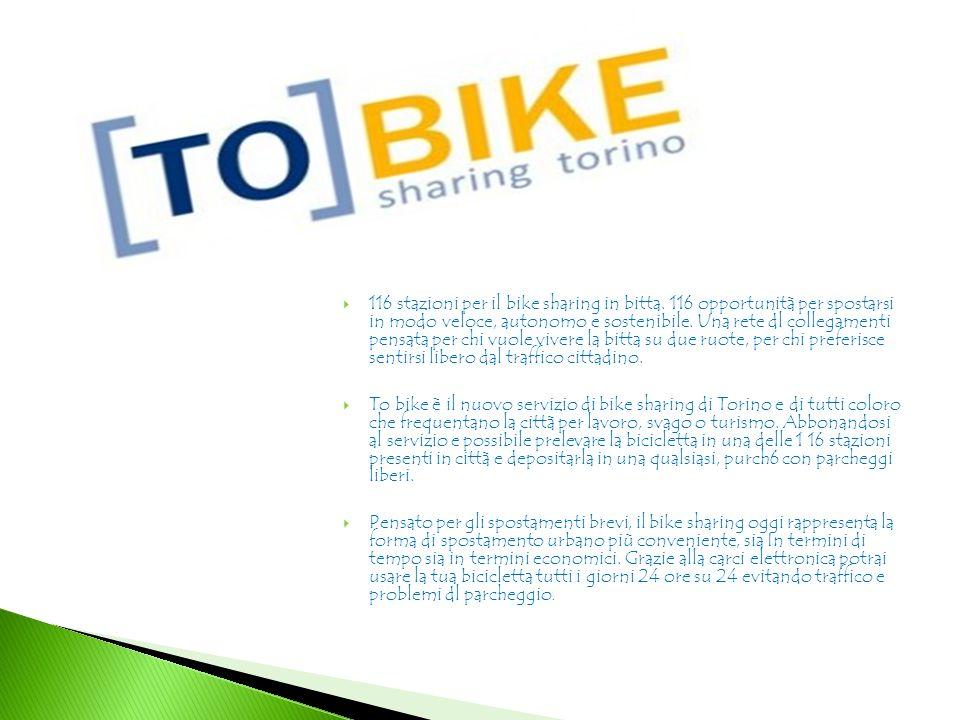 116 stazioni per il bike sharing in bitta.