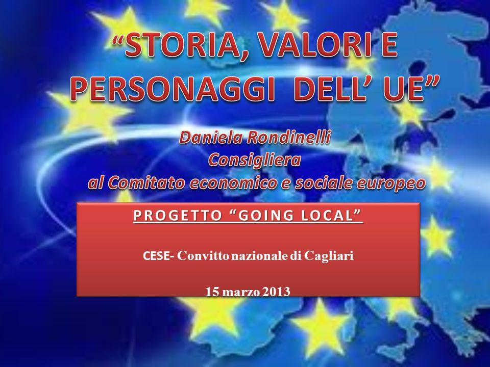 PROGETTO GOING LOCAL CESE- Convitto nazionale di Cagliari 15 marzo 2013 PROGETTO GOING LOCAL CESE- Convitto nazionale di Cagliari 15 marzo 2013