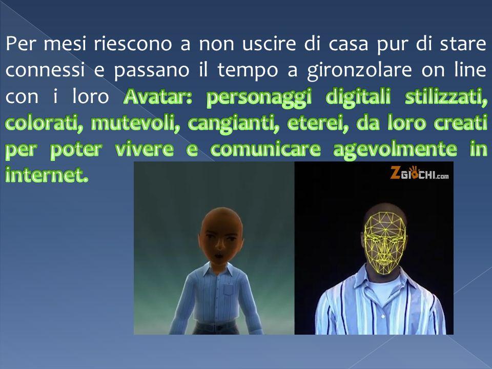 - Avatar scioccanti.