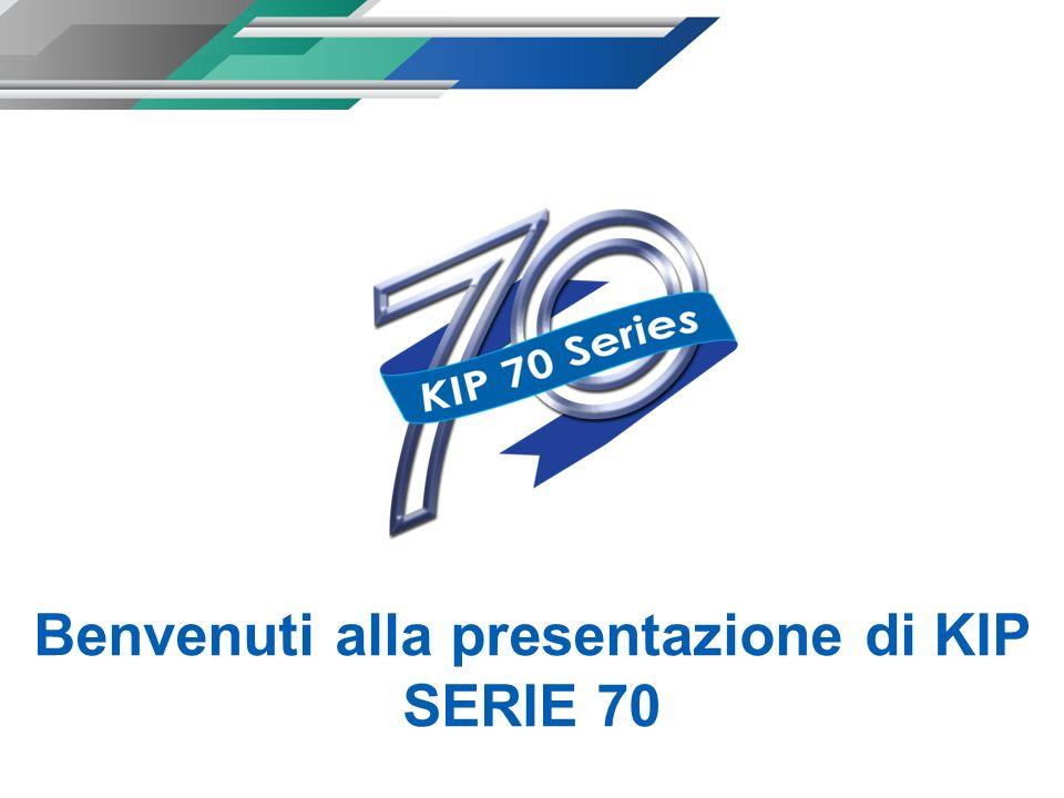 Benvenuti alla presentazione di KIP SERIE 70