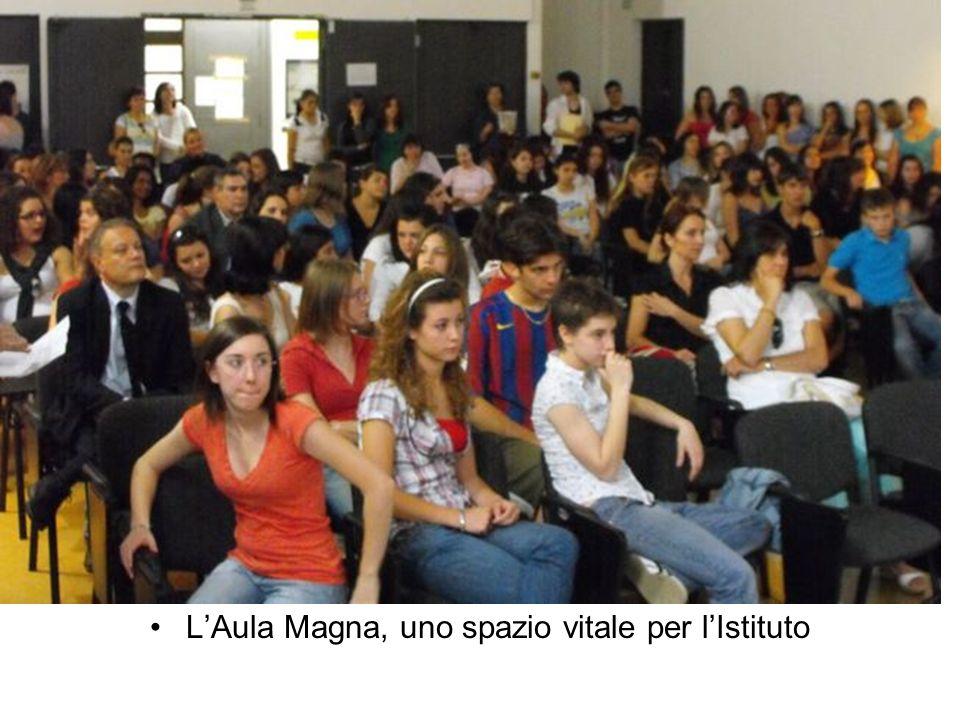 LAula Magna, uno spazio vitale per lIstituto