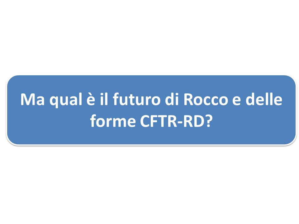 Ma qual è il futuro di Rocco e delle forme CFTR-RD?