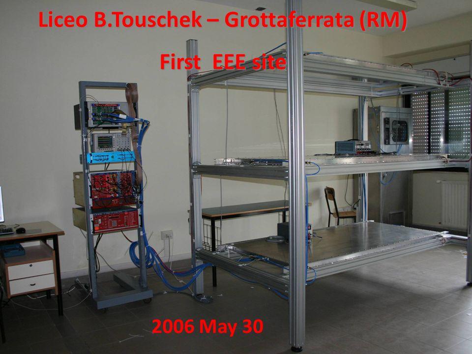 Liceo B.Touschek – Grottaferrata (RM) First EEE site 2006 May 30