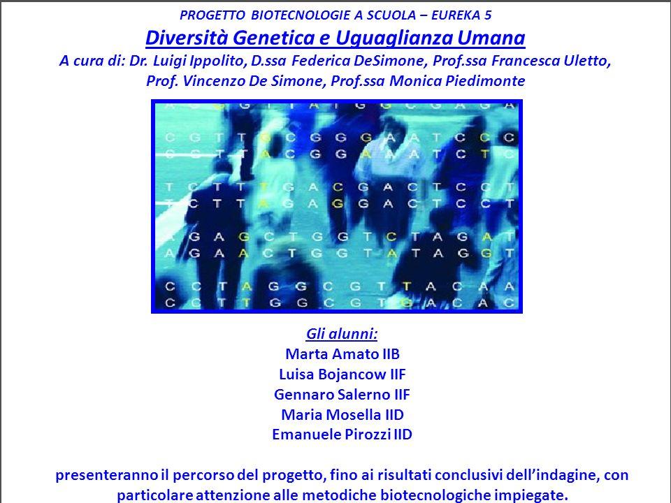 potenzialità e limiti della genetica forense